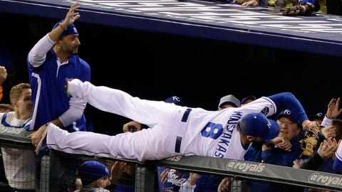 No. 2: ALCS Game 3, Oct. 14 at Kauffman Stadium -- Royals 2, Orioles 1