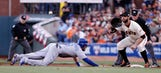 Royals think Giants soaked dirt to slow speedsters