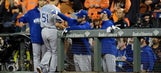 Royals quick to flush blowout loss, ready to take on Giants' Bumgarner