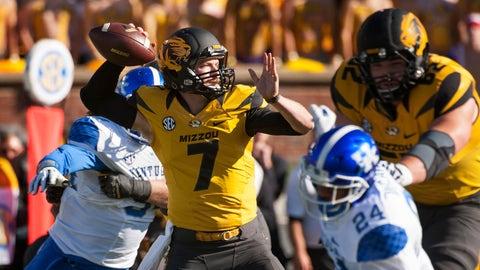 SEC: Missouri Tigers (12/1)