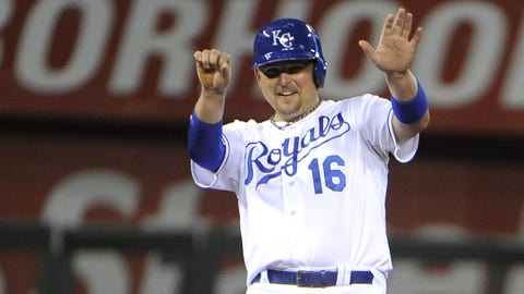 No. 3: ALDS Game 3, Oct. 5 at Kauffman Stadium -- Royals 8, Angels 3