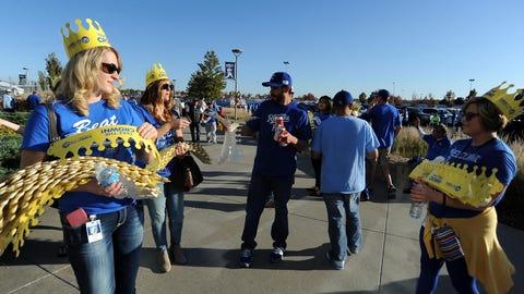 Royals Fans