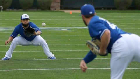 2015 Kansas City Royals spring training