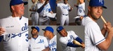 Royals cheese it up (or don't) for annual spring training photos