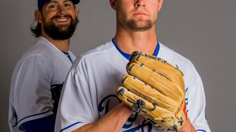 Luke Hochevar and Bubba Starling
