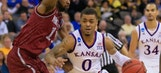Kansas routs New Mexico State 75-56 in opener