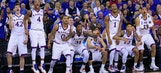 Hush, haters: Jayhawks prove they mean business in NCAA tourney opener