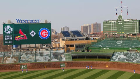 Cardinals at Cubs