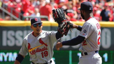 Cardinals at Reds