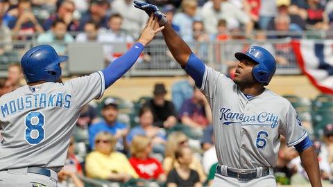 Royals at Twins