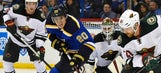 Blues open playoffs with bland performance, 4-2 loss to Wild
