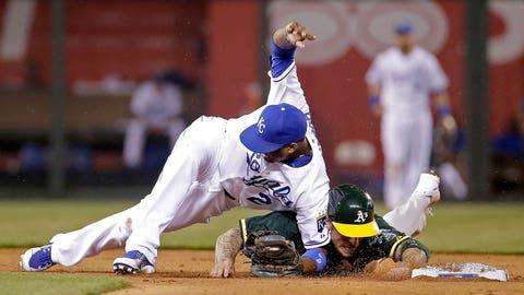 Athletics at Royals