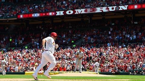 Day baseball at Busch Stadium