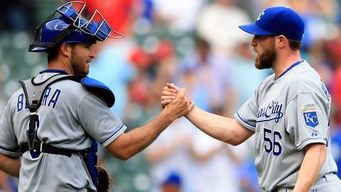 Royals at Rangers