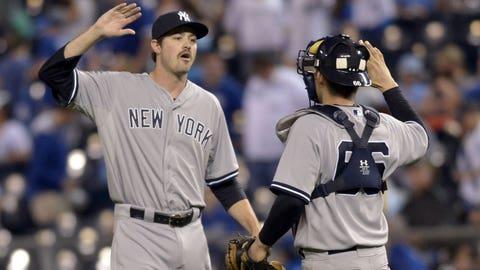 Yankees at Royals