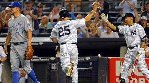 Royals at Yankees