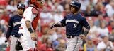 Brewers blank Cardinals, 1-0