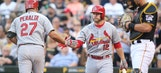 Cards and Buccos meet in Pittsburgh as two of baseball's best