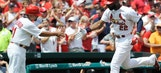 Heyward homers twice but Cardinals can't complete sweep of Marlins