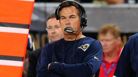 Sunday: Rams at Patriots