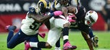 Rams to face a new RB in Cardinals' rapidly shrinking backfield