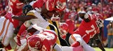Chiefs' reshuffled offensive line finally looks to be in sync