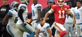 Smith, Chiefs run over Lions 45-10 at Wembley Stadium