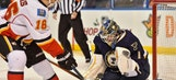 Blues beat Flames 3-2 to pick up third straight win