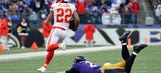 Chiefs convert Ravens mistakes into eighth straight win