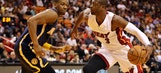 Pacers won't see Bosh, possibly Wade in matchup against Heat