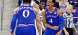 Pair of overlooked guards are helping No. 1 Jayhawks hit their stride