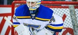 Blues go with Allen in net for Game 4