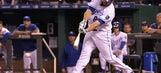 Moustakas scratched for series opener in Cleveland with sore left thumb