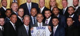 The World Series champion Royals go to the White House