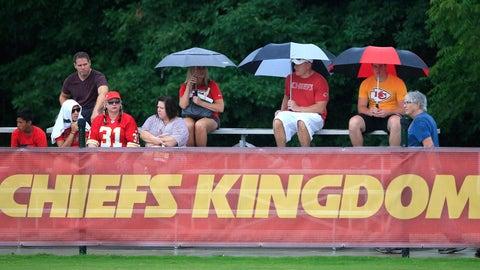 Chiefs training camp 2016