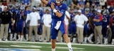 Jayhawks' QB duel produces dual QBs in season-opening win