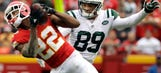 Peters returns for Chiefs, but three starters remain out
