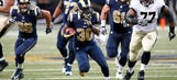 Rams' Stacy is eager to build on his impressive rookie season