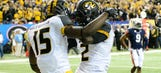Size makes a big, big difference for Missouri's receiving corps