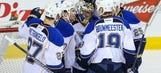 Recap: Blues shut out Flames 5-0, win seventh straight