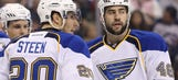 Steen, Polak closer to returning for Blues