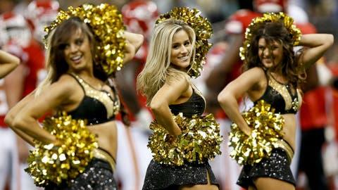 New Orleans Saints cheerleaders