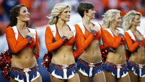 Denver Broncos cheerleaders