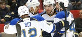 Recap: Blues surge to 4-1 victory over Red Wings