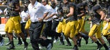 Pinkel resonating with recruits amidst strife on campus