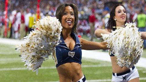 St. Louis Rams cheerleaders