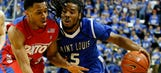 Dayton throws a wrench into Billikens' party plans