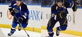 Blues' youngsters taking full advantage of time on ice