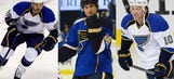Blues' new 'Dallas Stars Line' is starting to jell
