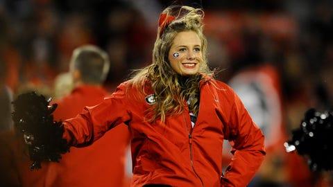 SEC Football Cheerleaders